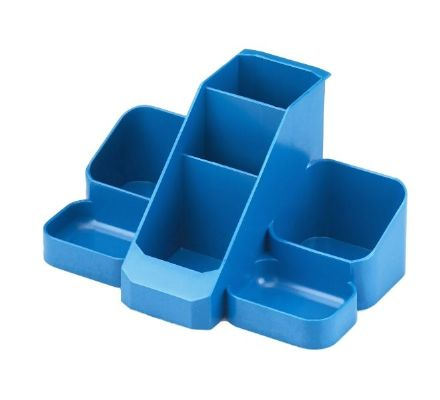 Basics Blue Desk Tidy - 1137BLUE